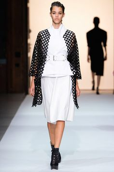 Spring 2013 Ready-to-Wear  Véronique Leroy  Pauline Hoarau  (ELITE)