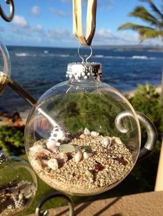 Hawaiian Shell Ornaments by FlatteryDesigns on Etsy, $12.00