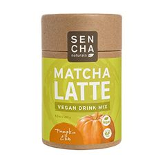 Sencha Naturals, Matcha Latte, oz tube (Pumpkin Chai) *** Check this useful article by going to the link at the image. Coconut Sugar, Coconut Cream, Chai Latte, Coconut Drinks, Organic Matcha, Vegan Pumpkin, Matcha Green Tea, My Tea, Mixed Drinks