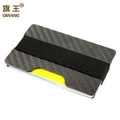 100% 진짜 탄소 섬유 슬림 지갑 3 천개 탄소 신용 카드 홀더 남성 고급 내구성 카드 케이스 지갑 남성 포켓 지갑