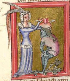 Rudolf / Jansen Enikel, Jans: Weltchronik in Versen - Mischhandschrift aus Christ-herre-Chronik um 1370 Cgm 5  Folio 66r