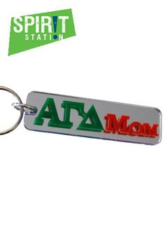 Alpha Gamma Delta Family Keychain-On sale this week! (1/20-1/26/13)