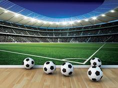 Voetbal Corner behang l Voetbalshop - Dinoworld