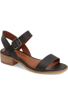 Lucky Brand 'Toni' Stacked Heel Sandal (Women) available at #Nordstrom