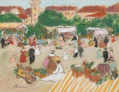 Rippl Kaposvár Market - Category:Pastels by József Rippl-Rónai - Wikimedia Commons Girls Dress Up, Green Hats, Female Portrait, Old Things, Pastel, Artist, Painting, Czech Republic, Slovenia
