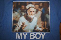 Old School Ripple Junction MY BOY T-Shirt Men's Medium college wrestling #RippleJunctionOldSchool #GraphicTee