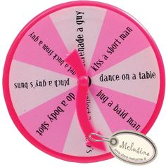 Spin the wheel.. Bachelorette Party Ideas!