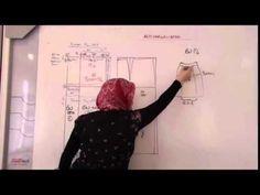 PRATİK ETEK KALIBI ( PENSLİ ) - YouTube