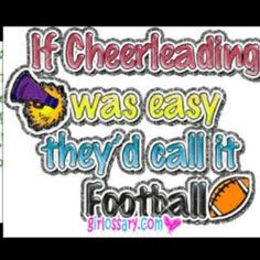 If cheerleader
