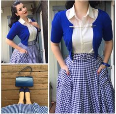 Retro Fashion Miss Victory Violet Mode Rockabilly, Rockabilly Outfits, Rockabilly Fashion, Vintage Inspired Fashion, 1940s Fashion, Vintage Fashion, Modern 50s Fashion, Fashion News, Women's Fashion