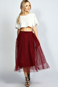 plaid and tulle skirt, Space 46, black midi skirt, modest fashion ...