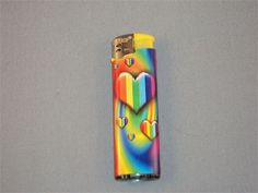 RAINBOW HEARTS CIGARETTE LIGHTER