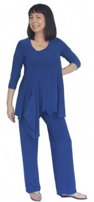 Sympli flow tunic with pure pant