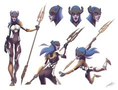 """My character study of Proxima Midnight. Warrior of Black Order of Thanos from """"Avengers - Infinity War"""" Marvel Dc Comics, Marvel Cartoons, Hq Marvel, Marvel Villains, Marvel Heroes, Drawing Cartoon Characters, Character Drawing, Cartoon Drawings, Marvel Comic Character"""