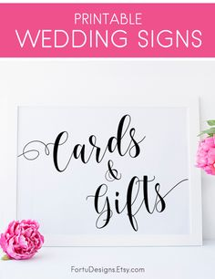Cards and Gifts Sign - Wedding Cute Ideas - Cards and Gifts Table Wedding Decor. SHOP now at FortuDesigns.Etsy.com CLICK to find out more =>>>> #CardsandGiftsSign #TableWeddingDecor