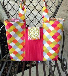 Gracie Handbag PDF Sewing Pattern from Lazy Girl Designs