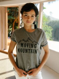 a24838176e Moving Mountains Tee. Stitch And Feather