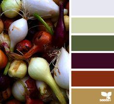 edible hues - voor meer #kleur #inspiratie kijk ook eens op http://www.wonenonline.nl/interieur-inrichten/kleuren-trends/