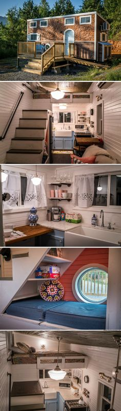 The Old Blue Chair Tiny House, available on Airbnb