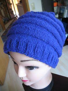 """Meine Wurm-Mütze"" Anleitung….   Bärbel´s Blog Knitted Hats, Knitting, Inspiration, Blog, Beret, Fun Crafts, Accessories, Easy Knitting Projects, Knit Hats"