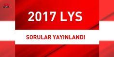 2017 'LYS soruları ve cevapları' (cevap anahtarları) ÖSYM tarafından yayınlandı   2017 LYS puan hesaplama: 2017 LYS sınav soruları ve cevapları Öğrenci Seçme ve Yerleştirme Merkezi (ÖSYM) tarafından son sınavdan hemen sonra yayınlandı. LYS Matematik, Fizik, Kimya, Biyoloji, Türk Dili ve Edebiyatı, Coğrafya 1, Tarih, Coğrafya 2, Felsefe, Din Kültürü ve Ahlak Bilgisi, Yabancı Dil (Almanca, Fransızca, İngilizce) soruları ve cevapları eksiksiz bir şekilde kurum tarafından yayınlandı.