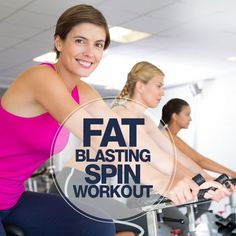 Fat Blasting Spin Workout: