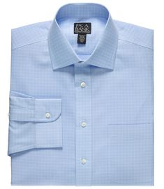 Travelers Big and Tall Spread Collar Traditional Fit Dress Shirt