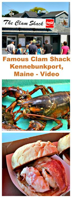 I am not sure what is more famous in Kennebunkport the Bush Compound at Walker's Point or The Clam Shack. See my video on the famous Clam Shack. Family Fun Places, Kennebunk Port, Lobster Restaurant, Delicious Destinations, Kennebunkport Maine, Crab Shack, Places In America, New England Style, Travel Usa