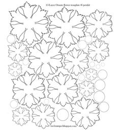 Finally my free ornate flower cut file is back mel stampz im addicted to paperfabric flowers at the moment has all sorts of flower templates on this site with flower printable template patterns mightylinksfo