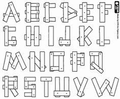 Malvorlage 01a Alphabet Ende 15 Jahrhundert Bilder fr Schule