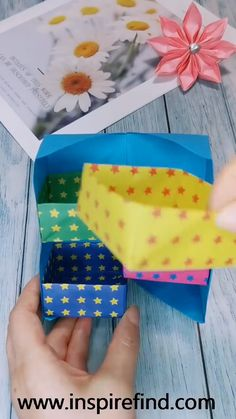 Cool Paper Crafts, Paper Crafts Origami, Diy Crafts Hacks, Diy Crafts For Gifts, Diy Arts And Crafts, Creative Crafts, Diy Paper, Fun Crafts, Instruções Origami