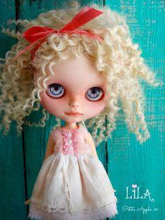 Custom BLYTHE doll - LILA by Marina, Petite Apple
