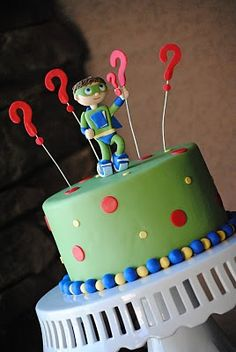 Super Why Daniel Wants This Cake For His Birthday