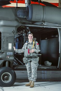 Marne L. Sutten, LTC  Pictured alongside a Sikorsky UH-60 Black Hawk helicopter at the US Army Reserve Aviation Facility in Clearwater  http://magazine.tbparenting.com/publication/?i=156692&page=1