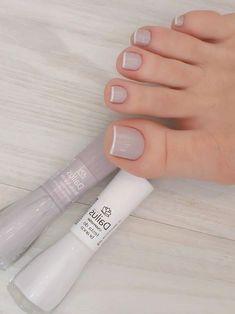 Light Pink Acrylic Nails, Pink Toe Nails, Fancy Nails, Blue Nails, Diy Nails, Nail Nail, Acrylic Nail Designs, Nail Art Designs, Airbrush Nails