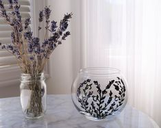 Handmade Lavender Products by FleurEscents on Etsy Cottage Homes, Glass Vase, Etsy Seller, Lavender, Etsy Shop, Create, Unique Jewelry, Handmade Gifts, Vintage