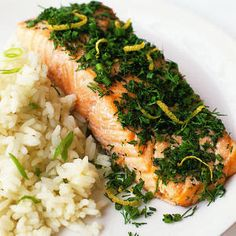 8 Weeks to a Better You Recipes: 2 dinners/salmon