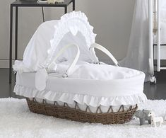 Do I need a cot, crib or Moses Basket? | Luxury Nursery Furniture