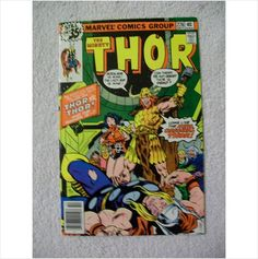 Thor Comic Book Bronze Age VF Super Nice Stored for 35 Years Unread Lok on eBid United States Thor Comic Book, Comic Books, Thor Superhero, Bronze Age, Marvel Comics, United States, Nice, Art, Art Background