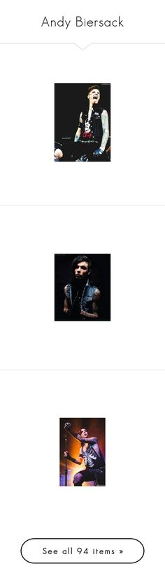 """Andy Biersack"" by emily-chacon ❤ liked on Polyvore featuring art, andy biersack, black veil brides, bvb, bands, pictures // andy biersack, andy, band, music and august"