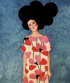 Fashion Illustration Portrait Collage Ideas For 2019 Painting Inspiration, Art Inspo, Grafic Design, Art Watercolor, Art Plastique, Illustrators, Art Drawings, Art Photography, Illustration Art