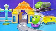 Chuggington Trains Toys Motorised Playset Video For Children ★ Чаггингто...