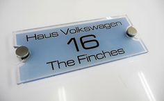 Address plaque   #BlueIsTheWarmestColor when at your door #fresh AND #inviting #Welcome your guests in #style  pic.twitter.com/oULPgYjtxQ http://www.de-signage.com/modern-acrylic-house-sign.php …