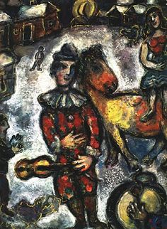 TICMUSart: Circus in the Village - Marc Chagall (1969) (I.M.)