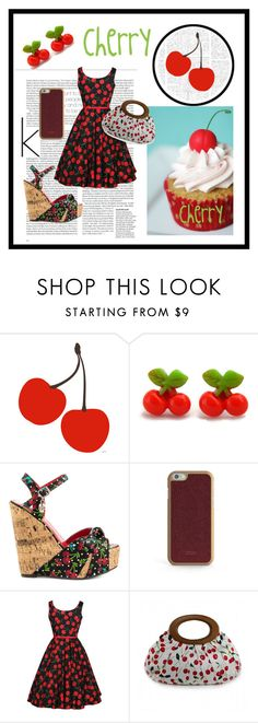 """Cherry!!!!!"" by helliii ❤ liked on Polyvore featuring Retrò, Iron Fist, ID-INFINITE, women's clothing, women's fashion, women, female, woman, misses and juniors"