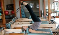 Sweat it out at Evolve Pilates - classes offered throughout the week and private sessions available call (508) 627-6060