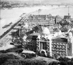 Budapest Hungary, Old Photos, Austria, Paris Skyline, The Past, History, Retro, Travel, Antique Photos