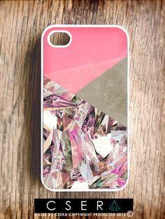 Accessories for iPhone - Cases For iPhone, Eco Friendly Cases, Quartz iPhone Case, iPhone 4 and 4S Covers - iPhone 5 Cases Coming Soon,. $24.99, via Etsy.
