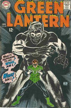COMIC green lantern 58 #comic #cover #art