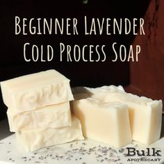 Cold Process Soap Recipe New to cold process soapmaking? Check out this gentle recipe perfect for the beginner!New to cold process soapmaking? Check out this gentle recipe perfect for the beginner! Cold Press Soap Recipes, Homemade Soap Recipes, Shea Butter Soap, Coconut Soap, Soap Making Supplies, Soap Maker, Art And Craft, Lavender Soap, Goat Milk Soap
